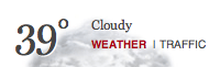 initial Boston Globe weatherwidget