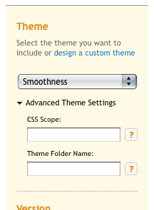The New Advanced Theme Settings