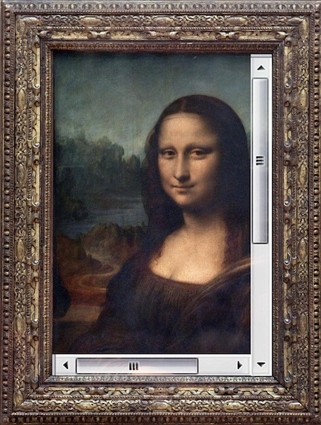 Mona Lisa Overflow (image provided by Scott Jehl)