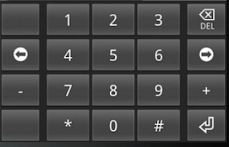 how to move decimal point android