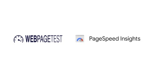 logos for Webpagetest and Pagespeed insights