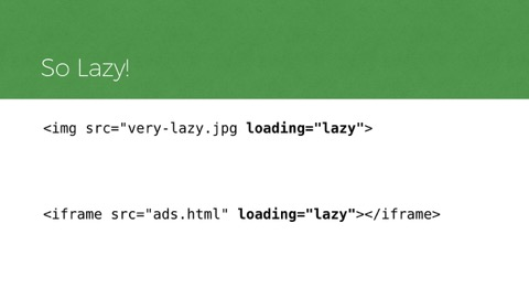 markup example showing img element with loading=lazy attribute