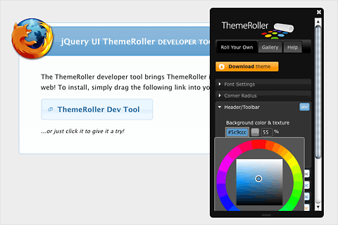 ThemeRoller Developer Bookmarklet